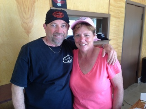 Owners Greg and Cathy Laroque. Like you, they were out to ride the Trail. They loved it so much, they sold their house in Ontario and bought this property. What a job they have done to make it the perfect spot for you and your group. They sell my official Cabot Trail Biker Caps there, and Greg and Cathy are all about the bikers. Great stay at a great price!