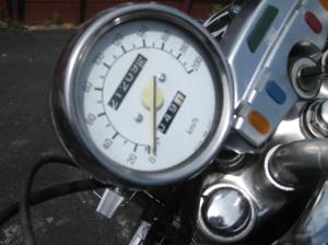 Second lap on a '85 Virago that's seen Chile!