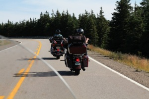 New Hampshire Bikers Having a great vacation.