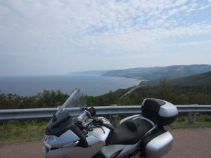 Steve Rebman, PA.  Nice bike - looks like a view of Pleasant Bay in the distance