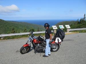 Rene Rivero The Zero Ride Cabot Trail 7/12/2014