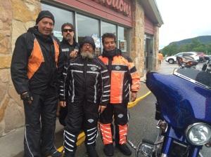 Bunch of guys from Toronto!